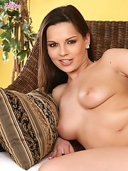 Eve Angel spends a horny moment all alone
